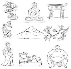 Symbols of Japanese culture