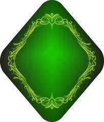 Green label.