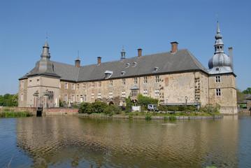 Schloss Lembeck, Wasserschloss, Münsterland, NRW, bei Dorsten