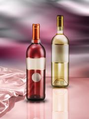 bottiglie di vino ambientate