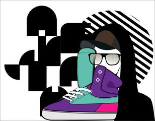 pop Sneaker