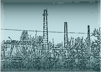 Industrial grunge.
