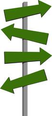 signal arrow