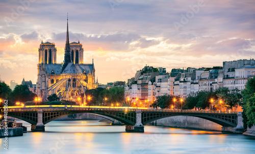 Zdjęcia na płótnie, fototapety na wymiar, obrazy na ścianę : Notre Dame de Paris, France