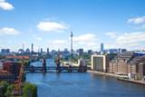 Fototapety berlin skyline spree