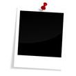 Polaroid mit Pin
