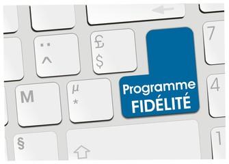 clavier programme fidélité