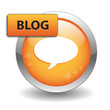 """BLOG"" Web Button (internet news online website community forum)"