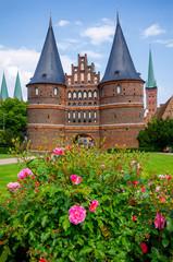 Holstentor. Lubeck, Germany