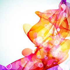 Bright abstract colorful background.
