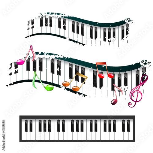 钢琴键盘_钢琴键盘示意图