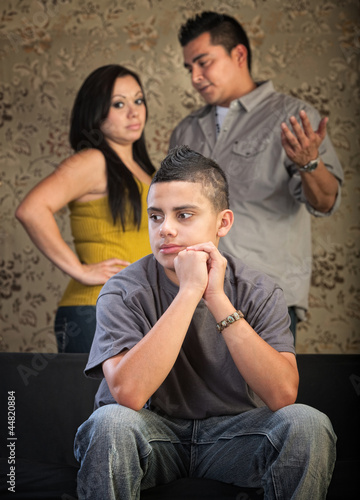 Young Teen Spacing Out