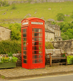 Make a Call, phone booth,Kettlewell.