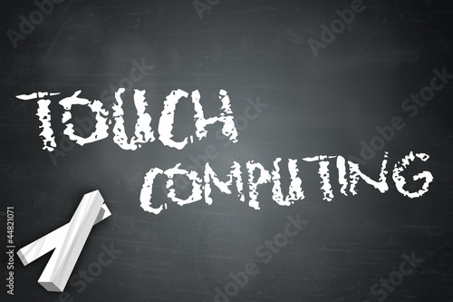 "Blackboard ""Touch Computing"""