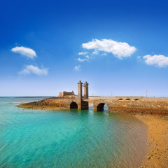 Arrecife Lanzarote castle and bridge
