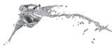 Fototapety silver splashes