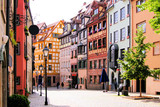Fototapety Half-timbered houses of the Old Town, Nuremberg
