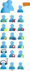 pictogrammes personnages web