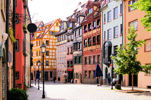 Half-timbered houses of the Old Town, Nuremberg 44825279