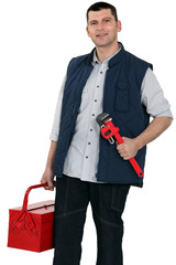 Plumber equipped for any job