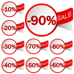Labels sale