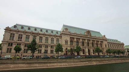 Palace of Justice in Bucharest Romania