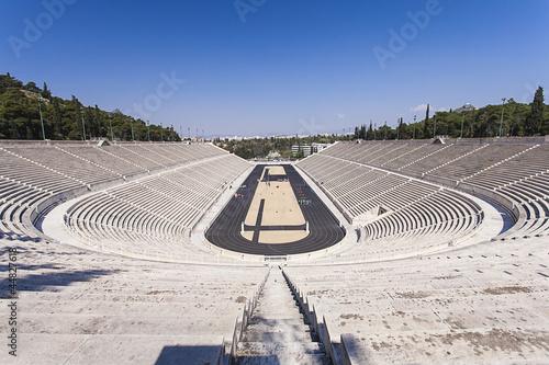 Panathenaic stadium or kallimarmaro in Athens