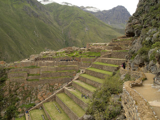 Ollantaytambo, The Inca Fortress, Peru