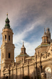 "The basilica of ""El Pilar"" in Zaragoza, Spain"