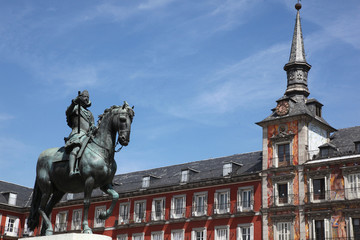 Plaza Mayor , Madrid