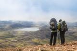 Fototapety Trekkingurlaub (Island)