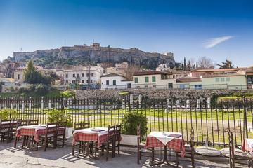 Acropolis in Athens,Greece
