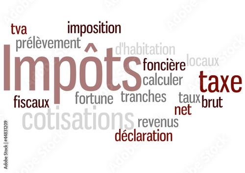Nuage de Mot : Impôts