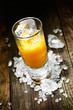 Hard Liquor Orange Juice Shooter