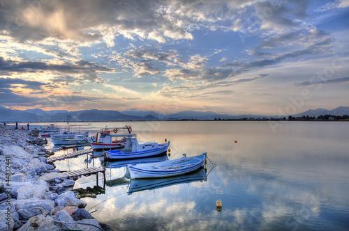 fishing boat from a greek island