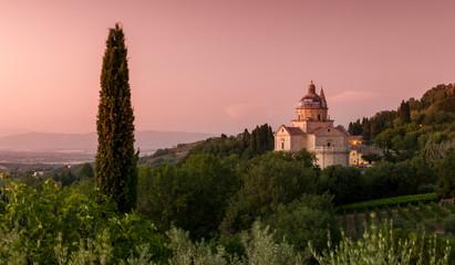 Basilica di San Biagio in Montepulciano, Tuscany, Italy