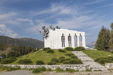 The Distomo Memorial in Greece