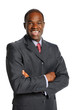 African American Businessman Smiling