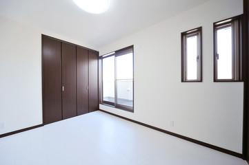 新築のベッドルーム1-1