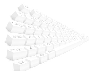 White Keyboards