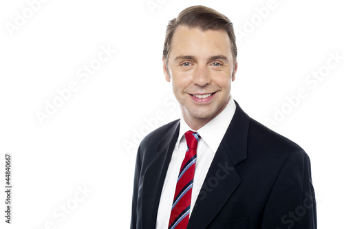 Smiling portrait of successful business enterprise