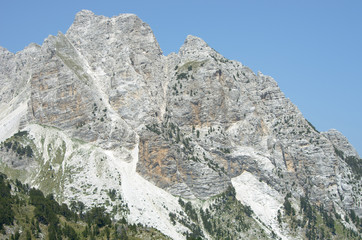 Mountain of Albanian Alps