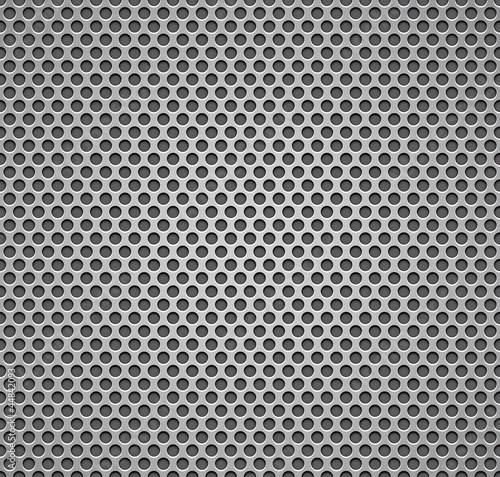 Metal grill seamless pattern.