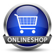 Onlineshop Button Blau