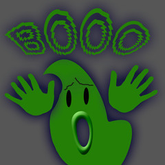 big green ghost
