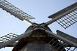 Detail einer Windmühle