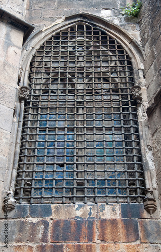 Detail of Barcelona Cathedral. Spain