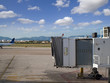 Jetway on airport tarmac