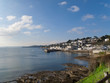 Shore and village of St. Mawes, Cornwall, United Kingdom