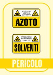 Segnale Pericolo Kit 61